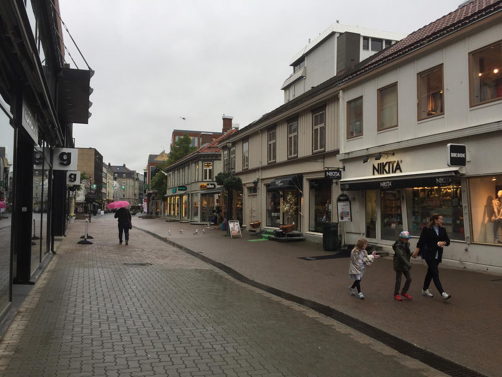 Trondheim schläft noch