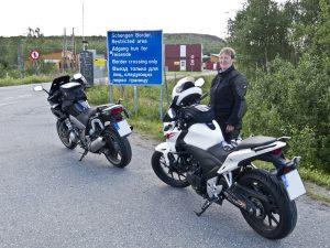 Grenzübergang Storskog