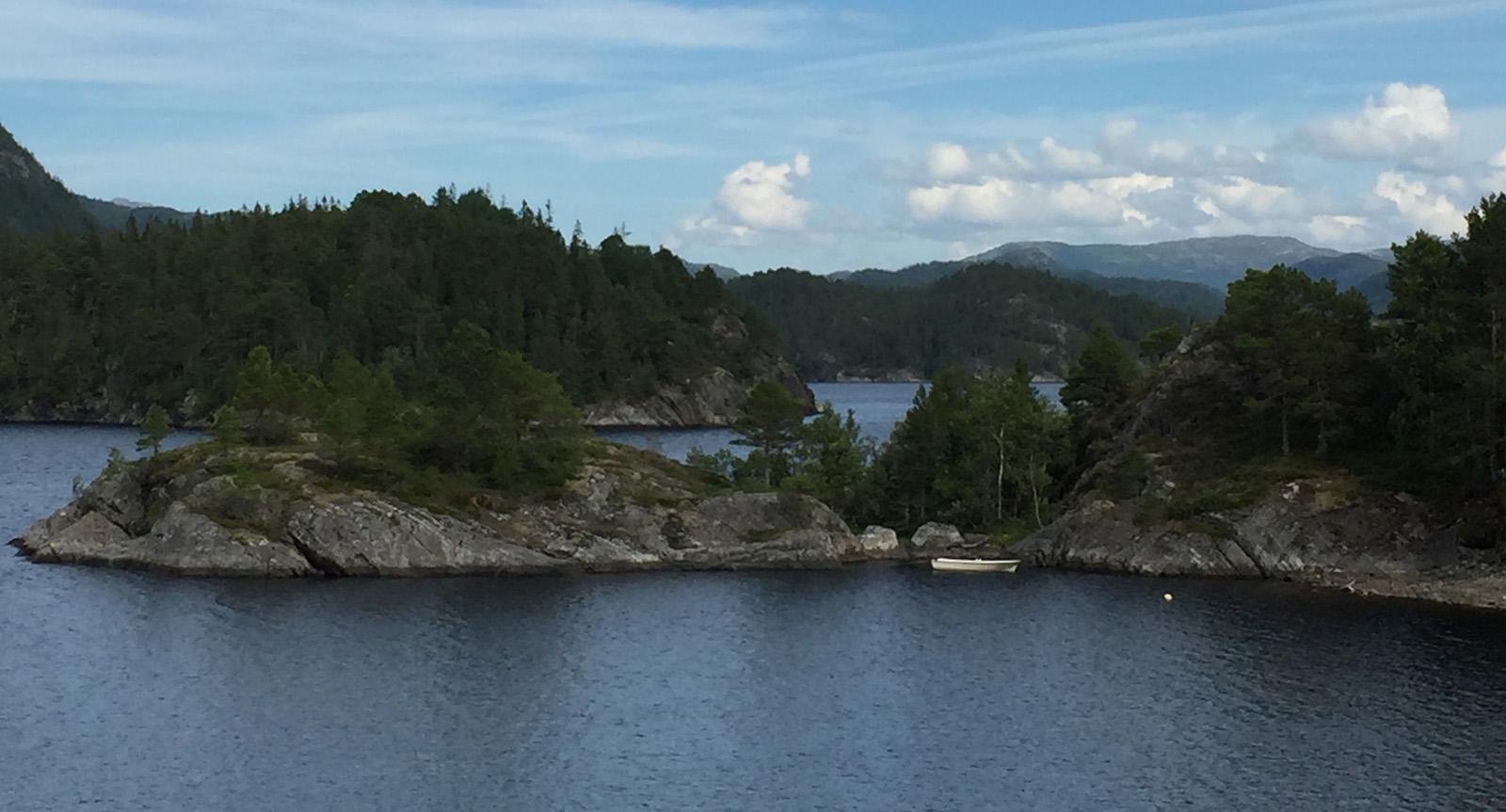 Fjorde wie Seen